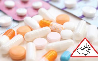 ¿Qué son los medicamentos fotosensibilizantes?