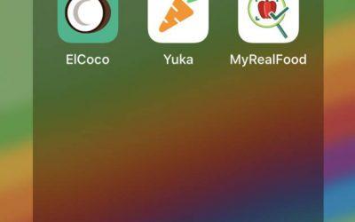 ¿Usas alguna app para analizar los alimentos?